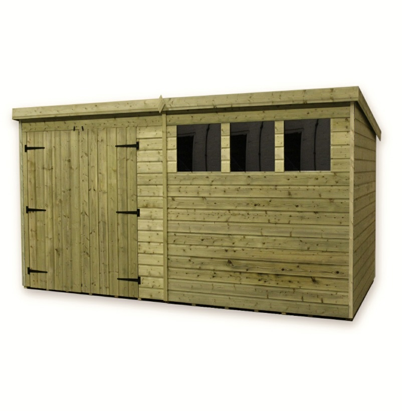 Garden shed double doors shedolla for Double door shed plans