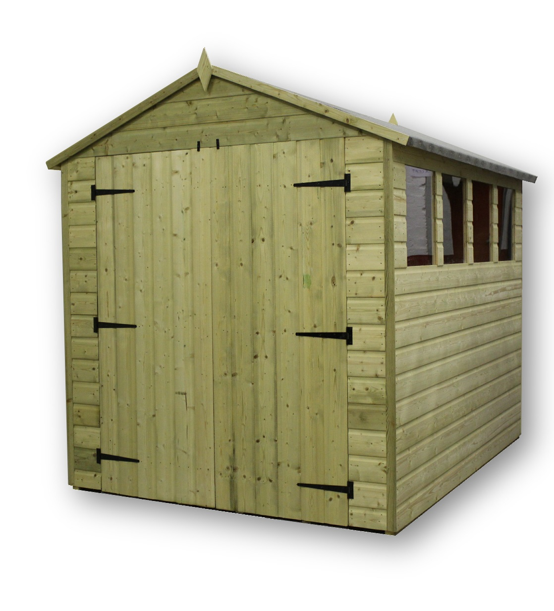 Garden Sheds 6x7: Empire 9800 Premier Apex Various Sizes