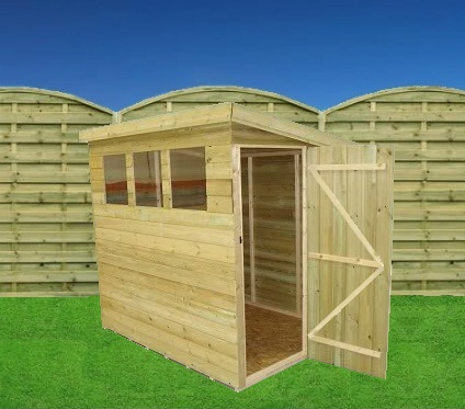 Slm 9x7 storage shed for Garden shed 7x4